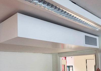 ljuddämpare ventilation förskola överluft tyst överhörning don