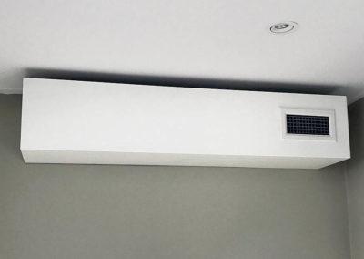 ljuddämpare ventilation kontor kanalljud tyst don