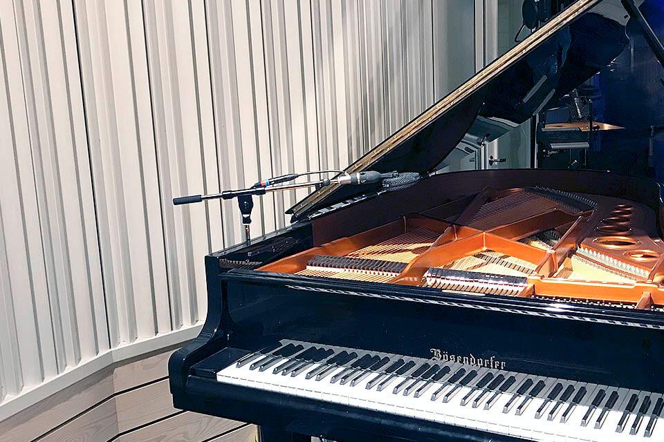 studio musik ljudisolering akustik flytande rum golv