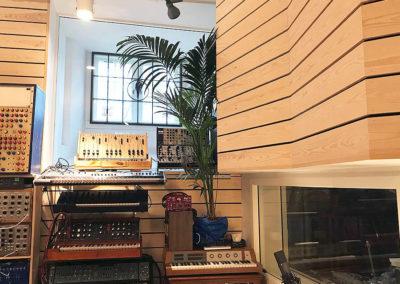 studio musik ljudisolering akustik rum i