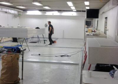 Studio studiobygge kontrollrum akustik